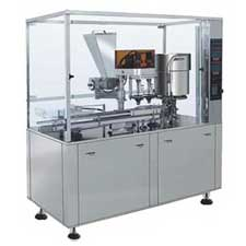 KFG-2A antibiotic powder filling and stoppering machine