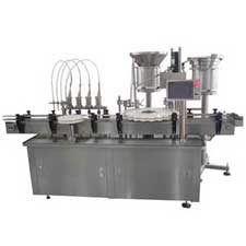 Liquid Filling Stoppering Capping Machine