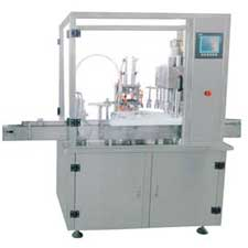 Spray Filling Capping Machine