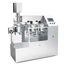 Vacuum Emulsifying Mixer